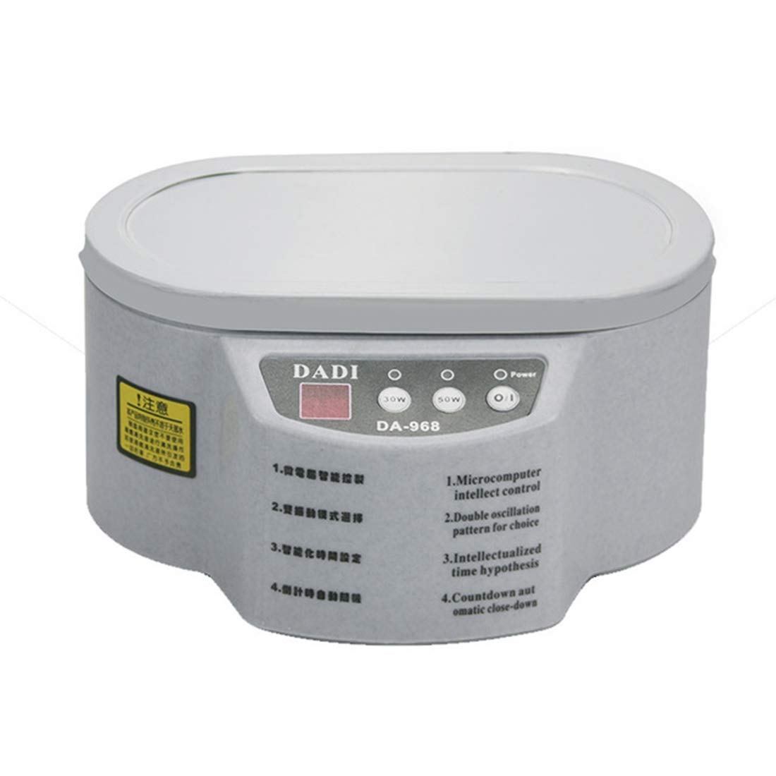 Hyx Repair&Spare Parts Mini Electric Ultrasonic Cleaner Machine for/Glasses/Jewelry/Watch,Capacity 600ml by Hyx