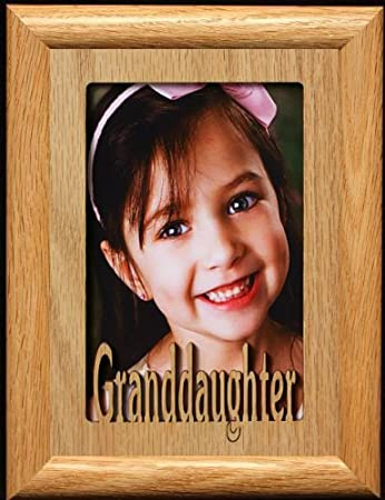 "Granddaughter Potrait Photo Frame 4x6/"" NEW"