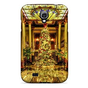 Perfect Christmas Gold Case Cover Skin For Galaxy S4 Phone Case