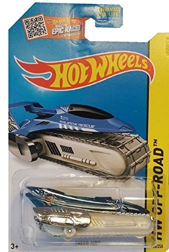 Hot Wheels 2015 HW Off-Road Tread Air 106/250, Blue (Treasure Hunt) - 106 Air