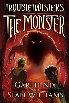 Troubletwisters Book 2: The Monster 0545258987 Book Cover