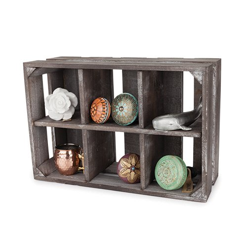 Twine Wooden Display Crate, 5.5