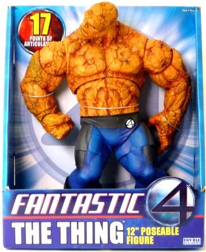 Fantastic Action Figure Fantastic 4 12 Mr Deluxe Roto