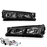 240sx headlights silvia - [Built-In CSP LED Low Beam] VIPMOTOZ Headlight Assembly For 1997-1998 Nissan S14 240SX - Matte Black Housing, Driver and Passenger Side