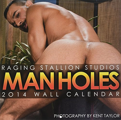 Raging Stallion Studios Man Holes 2014 Wall Calendar