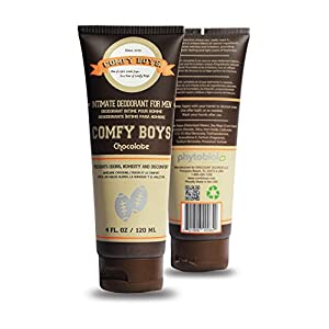 Comfy Boys Chocolate - #1 Intimate Deodorant for Men - 4 oz Daily Grooming Companion