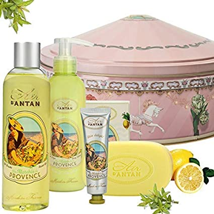 Caja Regalo Belleza Provence Mujer, 1 Jabon 100g, 1 Gel de Ducha 250ml,