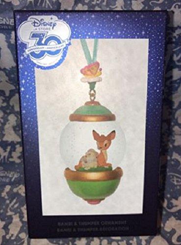 30th Anniversary Snow globe Ornament Subscription Bambi & Thumper February ()