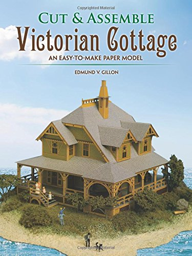 Cut & Assemble Victorian Cottage: An Easy-to-Make Paper Model (Cut & Assemble Buildings in H-O -