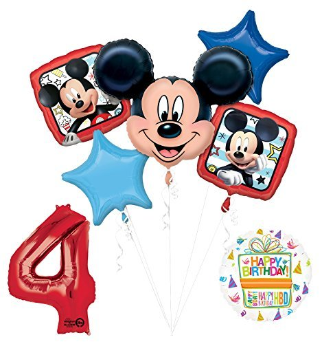 Mayflower Products New Mickey Mouse 4th Birthday Party