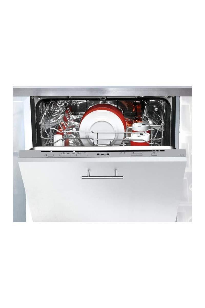 Brandt VH1772J lavavajilla Totalmente integrado 12 cubiertos A++ ...
