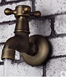 Antique antique copper single cold tap water mouth Dragon