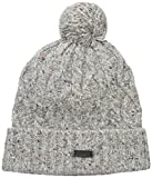 Fred Perry Men's Fleck Cable Beanie, Natural, One Size