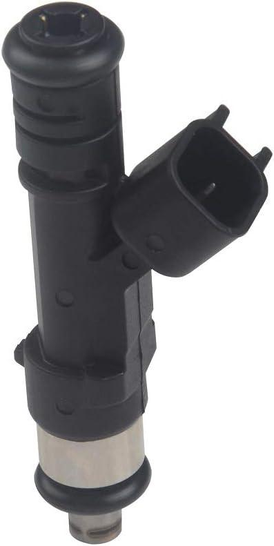 Queflago New EFI Fuel Injectors set Compatible with Dodge Jeep Mitsubishi Ram Replacment for FJ474 0280158020 6pcs
