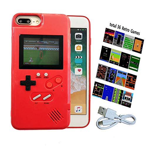 Cute iPhone X Case for Women, Retro Gameboy Case for iPhone X, Girls Case for iPhone X/XS