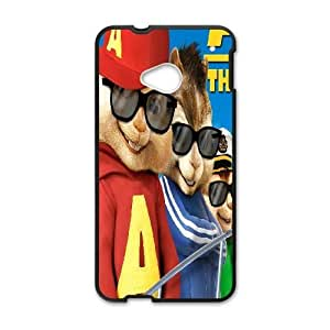 HTC One M7 Cell Phone Case Black Alvin and the Chipmunks NF9471838