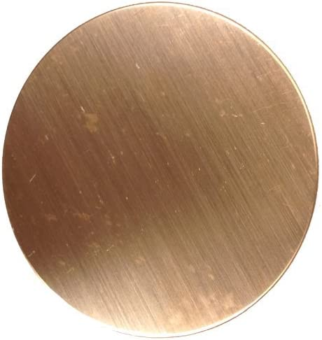 16 Oz Copper 0.021 Inch 3//4 Inch Round 24 Ga. RMP Stamping Blanks - 10 Pack