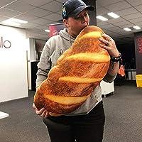 Fenido 3D HD Prints Butter Bread Shape Pillow Plush Toys for Home Decor Pillows