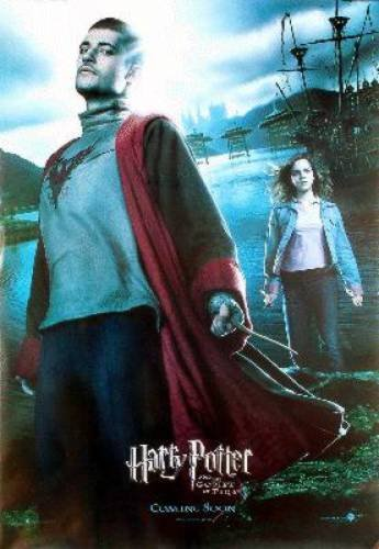 Click for larger image of Harry Potter And The Goblet Of Fire Reprint Viktor Krum 27X41 New Stanislar Lanevski Poster