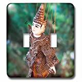 Danita Delimont - Toys - A local Thai puppet - Light Switch Covers - double toggle switch (lsp_226036_2)