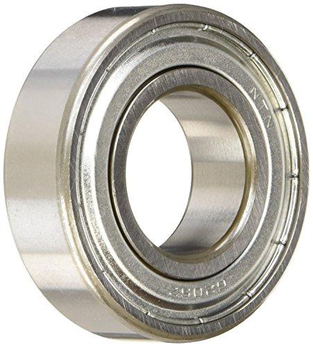 (NTN Bearing 6205ZZ Single Row Deep Groove Radial Ball Bearing, Normal Clearance, Steel Cage, 25 mm Bore ID, 52 mm OD, 15 mm Width, Double Shielded)