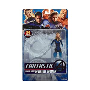 Fantastic 4 Power Blast Invisible Woman Action Figure by Fantastic 4