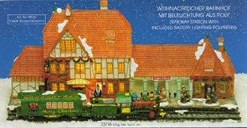 Lichthauser Wurm Kg Winterlandschaft Bahnhof Station Amazon De