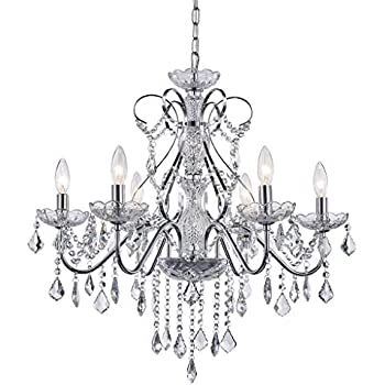 Amazon Com Riomasee Luxury K9 Crystal Glass Raindrop Chandelier