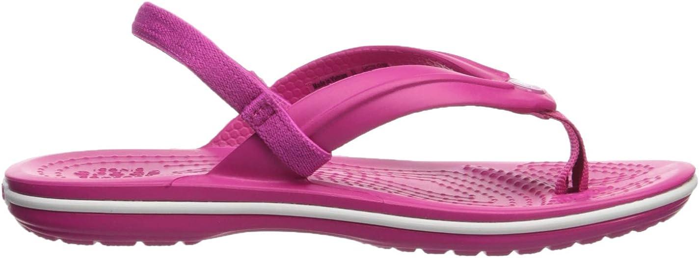Crocs Unisex Kids Crocband Strap Flip Flops
