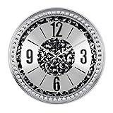 Cheap SMC 18-inch Diamond Infinity – Round Wall Clock, Unique Decorative Clock, Metal Frame