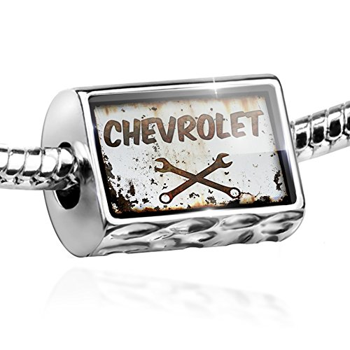 Bead Rusty old look car Chevrolet Charm by (Chevy Charm)