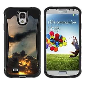 "Hypernova Defender Series TPU protection Cas Case Coque pour Samsung Galaxy S4 IV I9500 [Sunset Beautiful Nature 110""]"