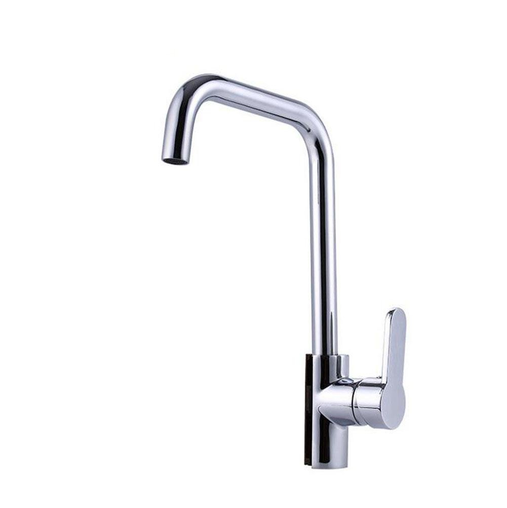SHIQUNC Kitchen Faucet Single handle Hot and cold water 360 degree redation Kitchen Sink Tap