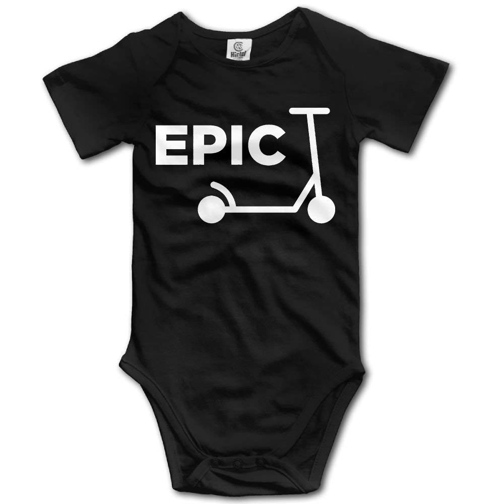 Dream-R Scooter Girl Newborn Babys Boys /& Girls Short Sleeve Baby Climbing Clothes For 0-24 Months Black
