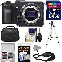 Sigma sd Quattro H Digital Camera Body with 64GB Card + Case + Tripod + Sling Strap + Kit