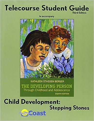 E-Book kostenlos für Handys herunterladen The Telecourse Study Guide for Developing Person Through Childhood and Adolescence 1429220392 in German