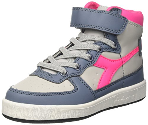 Zapatos blancos Diadora Mi Basket infantiles viYrEBQc
