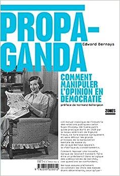 Book's Cover of Propaganda (Français) Broché – 11 octobre 2007