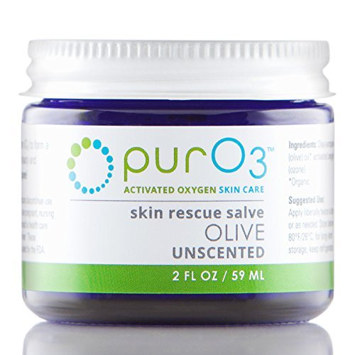 PurO3 Ozonated Olive Oil - Fully Ozonated - Glass Jars by Pur O3