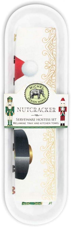 Michel Design Works Serveware Hostess Set, Nutcracker