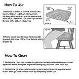 Gel Seat Cushion Comfort Honeycomb Egg Crate Design