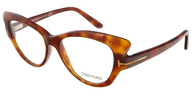 tom ford ft5269 052 eyeglasses frame tortoise 52