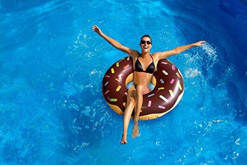 Playtek Giant Pool Float, Chocolate (Chocolate Pool)