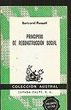 Principios de reconstrucción social (Colección Austral)