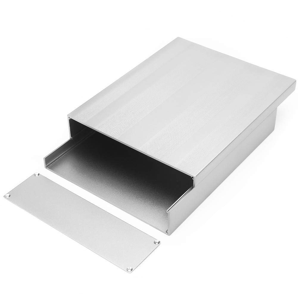 Chorro de arena Nitrip Instrumento de placa de circuito impreso Aleaci/ón de aluminio Caja gris Caja Caso de proyecto electr/ónico