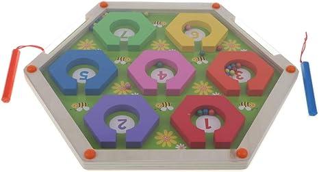 B Blesiya Imanes Puzzle Laberinto Juegos Divertidos para Niños Aprendizaje Educación Juguete: Amazon.es: Juguetes y juegos