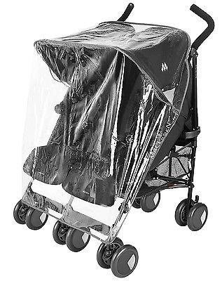 Protector de lluvia Compatible con Chicco Echo Twin - Carrito doble ...