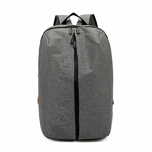 LMDSG Business backpack mens shoulder bag trend travel bag casual student bag simple fashion computer bag gray 3cwU2n