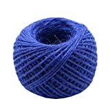 Hand Knitting Hemp Rope DIY Satin Ribbon Decorative Riband Twine B