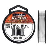 Beadalon 161U-010 WildFire .006-Inch Frost, 125-Yard
